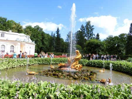 ペテルゴフ 噴水公園9