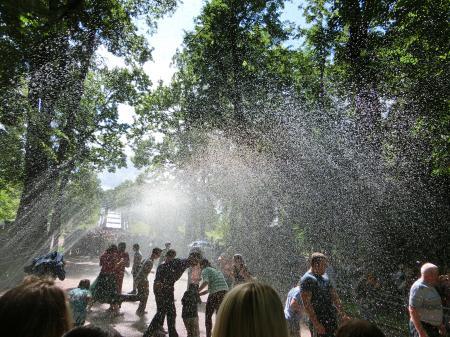 ペテルゴフ 噴水公園13