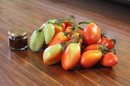 横山さん トマト イタリアントマトのサンマルツァーノ・レッドマジック