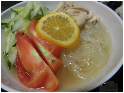 レモン冷麺1