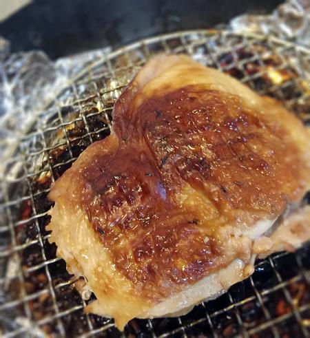 鶏モモ燻製