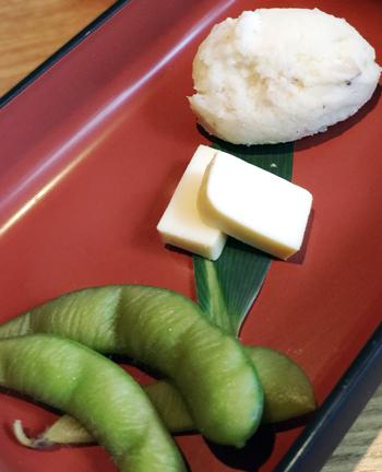 枝豆・チーズ・ポテサラ