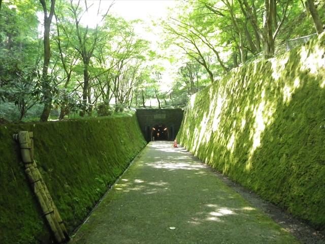 坑道の入り口