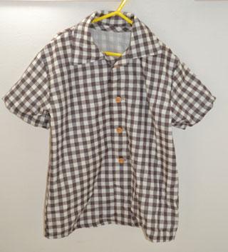 ダブルガーゼのシャツ