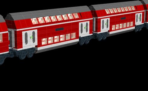 Bombardier Double-decker 中間