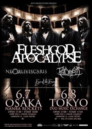 Fleshgod Apocalypse 2015