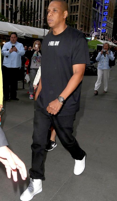 ジェイ・Z(Jay-Z):ジバンシィ(GIVENCHY)ドーバーストリートマーケット × ナイキ(Dover Street Market x Nike)