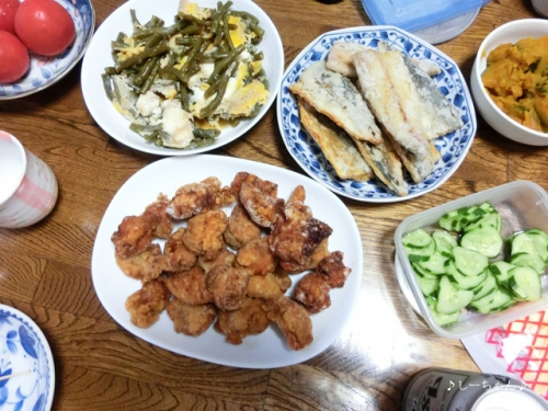 実家のお食事('15.07) #2_05