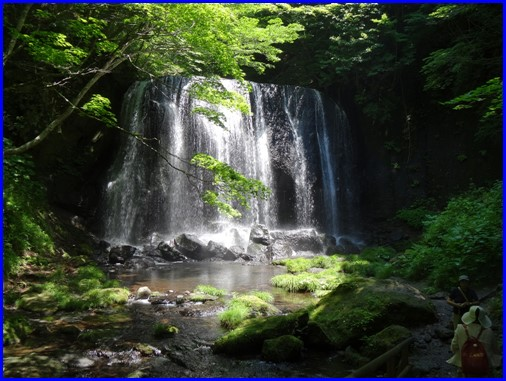 達沢滝ー3