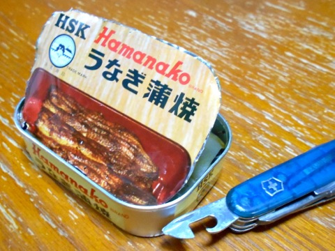 うなぎ蒲焼き缶
