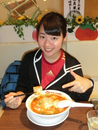 ブルーチーズトマト麺