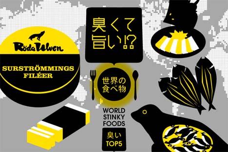 トリップアドバイザーは、世界のくさくておいしい食べ物ランキングを発表!