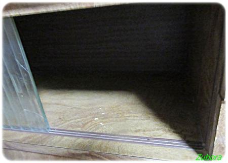 茶箪笥下の戸棚の断捨離。
