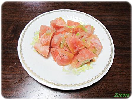 甘酢トマトのシャーベット