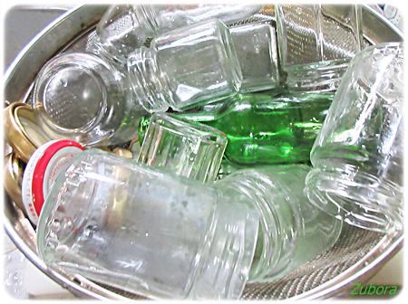 中身の残った瓶詰めの捨て方