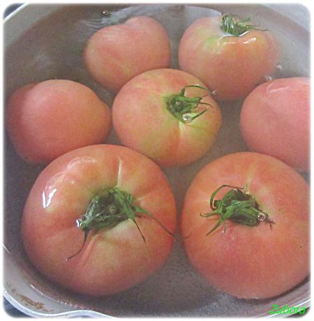 トマトを冷凍保存