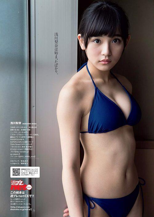浅川梨奈巨乳水着おっぱい画像b05