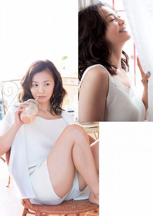 華原朋美グラビア画像b02