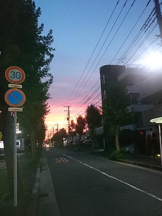 みらい住建 リフォーム 夕焼け 8号23日縮小