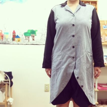 ロングシャツジャケット2