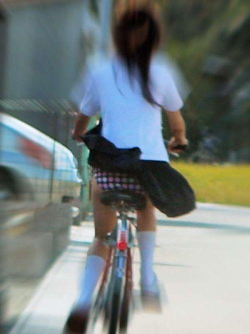 【三次画像あり】 JK自転車パンチラ女子高生集めたから貼ってくよ~♪ 54枚 part.14 No.12
