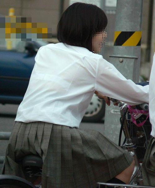 【三次画像あり】 JK自転車パンチラ女子高生集めたから貼ってくよ~♪ 54枚 part.14 No.30