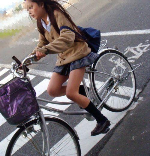 【三次画像あり】 JK自転車パンチラ女子高生集めたから貼ってくよ~♪ 54枚 part.14 No.31