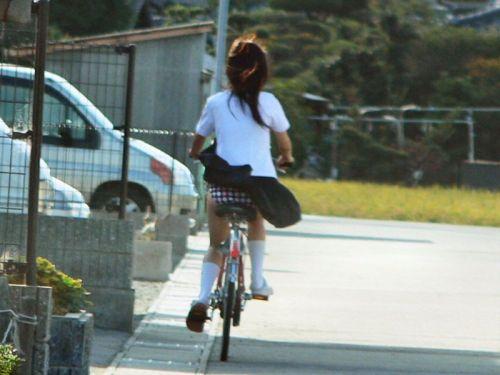 【三次画像あり】 JK自転車パンチラ女子高生集めたから貼ってくよ~♪ 54枚 part.14 No.48