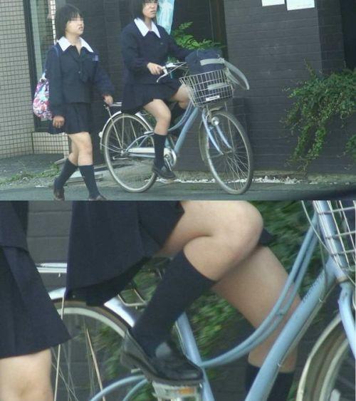 【三次画像あり】 JKがミニスカで自転車に乗ってる姿を後ろから眺めるの幸せすぎ♪ 56枚 part.13 No.2