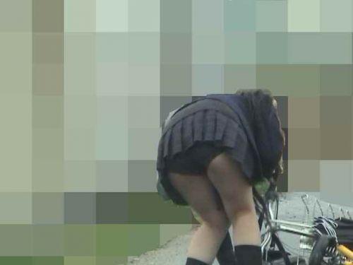 【三次画像あり】 JKがミニスカで自転車に乗ってる姿を後ろから眺めるの幸せすぎ♪ 56枚 part.13 No.4