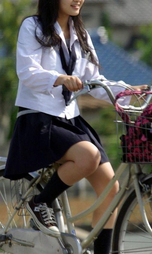 【三次画像あり】 JKがミニスカで自転車に乗ってる姿を後ろから眺めるの幸せすぎ♪ 56枚 part.13 No.12