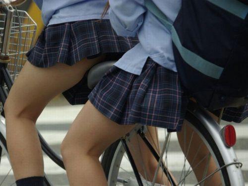 【三次画像あり】 JKがミニスカで自転車に乗ってる姿を後ろから眺めるの幸せすぎ♪ 56枚 part.13 No.19