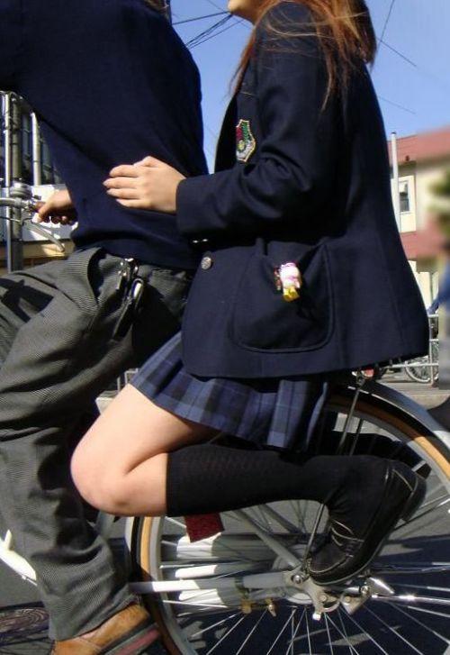 【三次画像あり】 JKがミニスカで自転車に乗ってる姿を後ろから眺めるの幸せすぎ♪ 56枚 part.13 No.21