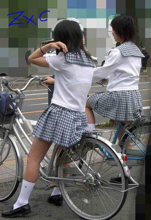 【三次画像あり】 JKがミニスカで自転車に乗ってる姿を後ろから眺めるの幸せすぎ♪ 56枚 part.13 No.22