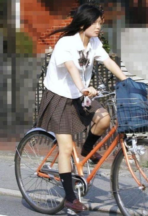 【三次画像あり】 JKがミニスカで自転車に乗ってる姿を後ろから眺めるの幸せすぎ♪ 56枚 part.13 No.26