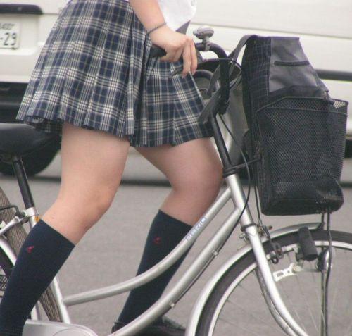 【三次画像あり】 JKがミニスカで自転車に乗ってる姿を後ろから眺めるの幸せすぎ♪ 56枚 part.13 No.27