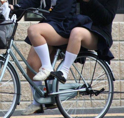 【三次画像あり】 JKがミニスカで自転車に乗ってる姿を後ろから眺めるの幸せすぎ♪ 56枚 part.13 No.28