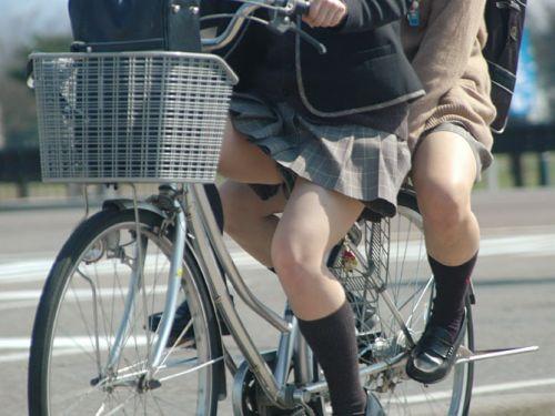 【三次画像あり】 JKがミニスカで自転車に乗ってる姿を後ろから眺めるの幸せすぎ♪ 56枚 part.13 No.29