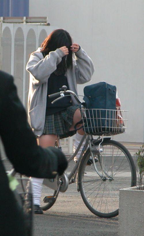 【三次画像あり】 JKがミニスカで自転車に乗ってる姿を後ろから眺めるの幸せすぎ♪ 56枚 part.13 No.35