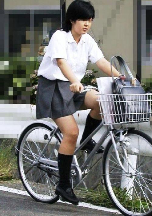 【三次画像あり】 JKがミニスカで自転車に乗ってる姿を後ろから眺めるの幸せすぎ♪ 56枚 part.13 No.40