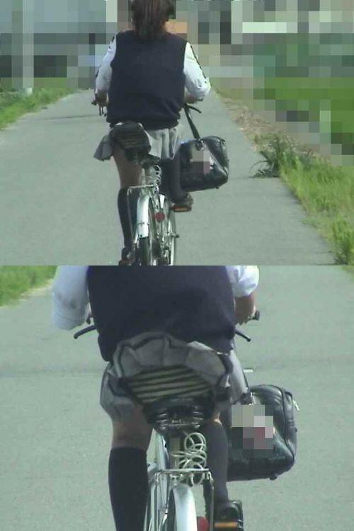 【三次画像あり】 JKがミニスカで自転車に乗ってる姿を後ろから眺めるの幸せすぎ♪ 56枚 part.13 No.41