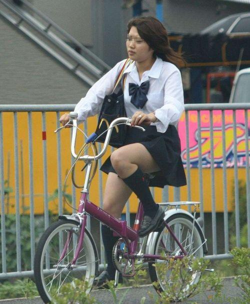 【三次画像あり】 JKがミニスカで自転車に乗ってる姿を後ろから眺めるの幸せすぎ♪ 56枚 part.13 No.46