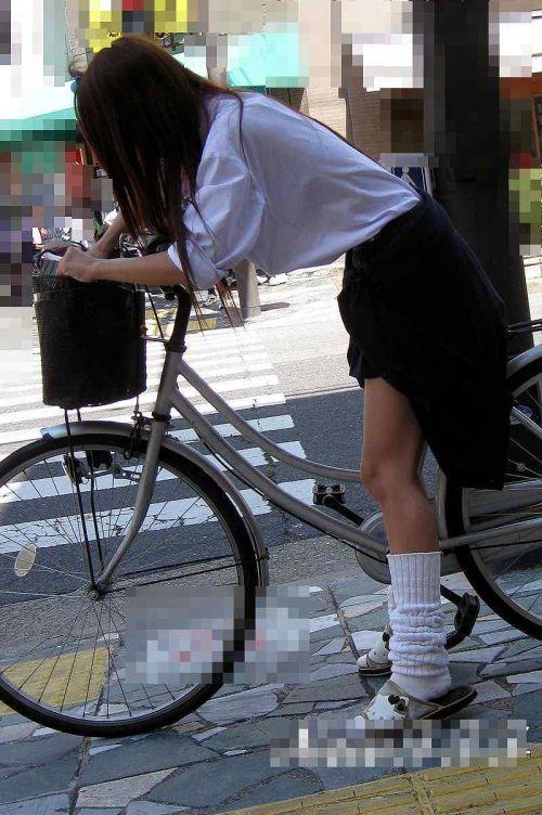 【三次画像あり】 JKがミニスカで自転車に乗ってる姿を後ろから眺めるの幸せすぎ♪ 56枚 part.13 No.50