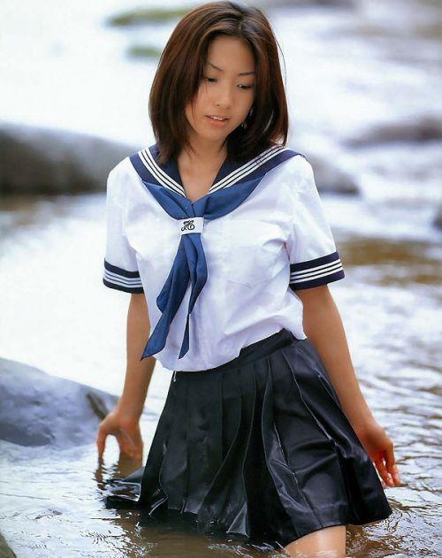 【三次・画像あり】 水に濡れて透け透けになってるJKって興奮しちゃうよな! 55枚 part.9 No.51
