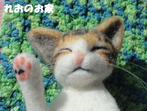 ねんねキジ猫4