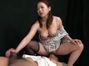 【拘束M男弄り】 上司を責め犯す部下痴女OL!強制連続射精!!