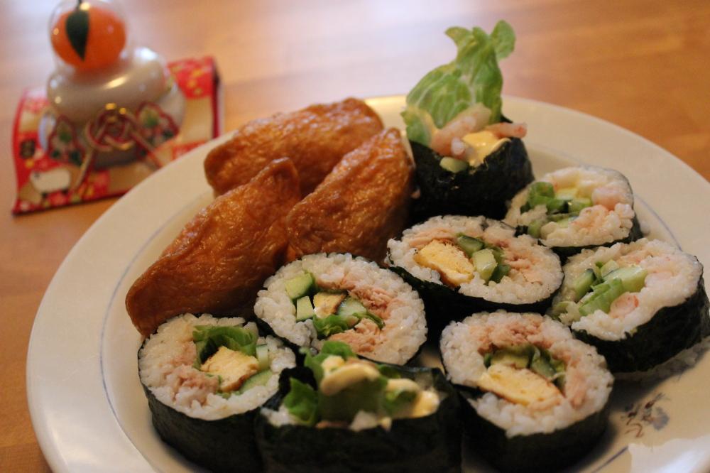 うちのお節 Sushi