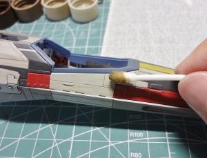 X-ウイング 製作 47