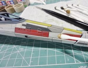 X-ウイング 製作 49