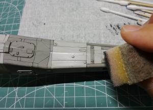 X-ウイング 製作 52